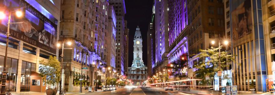 Center City Philadelphia Panorama